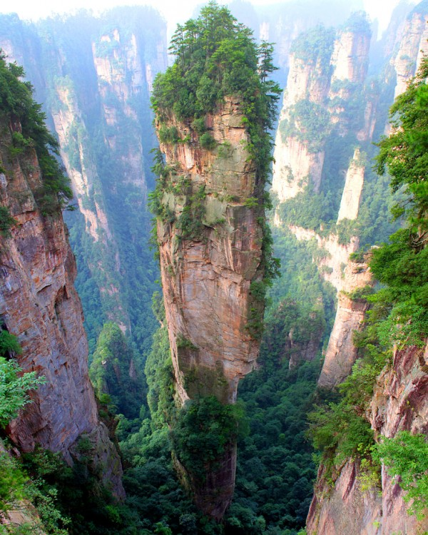 #2 Tianzi Mountains, China