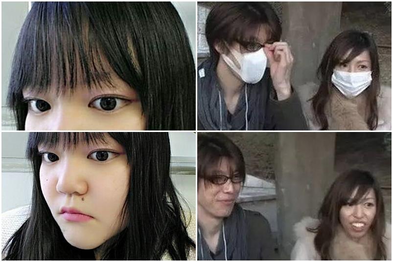 【圖集】日本囡囡除下口罩後 前後對比圖好震憾 | GameOver HK