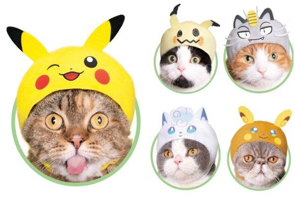 《Pokemon》貓頭套第二彈 比卡超單眼仲有喵喵怪   GameOver HK