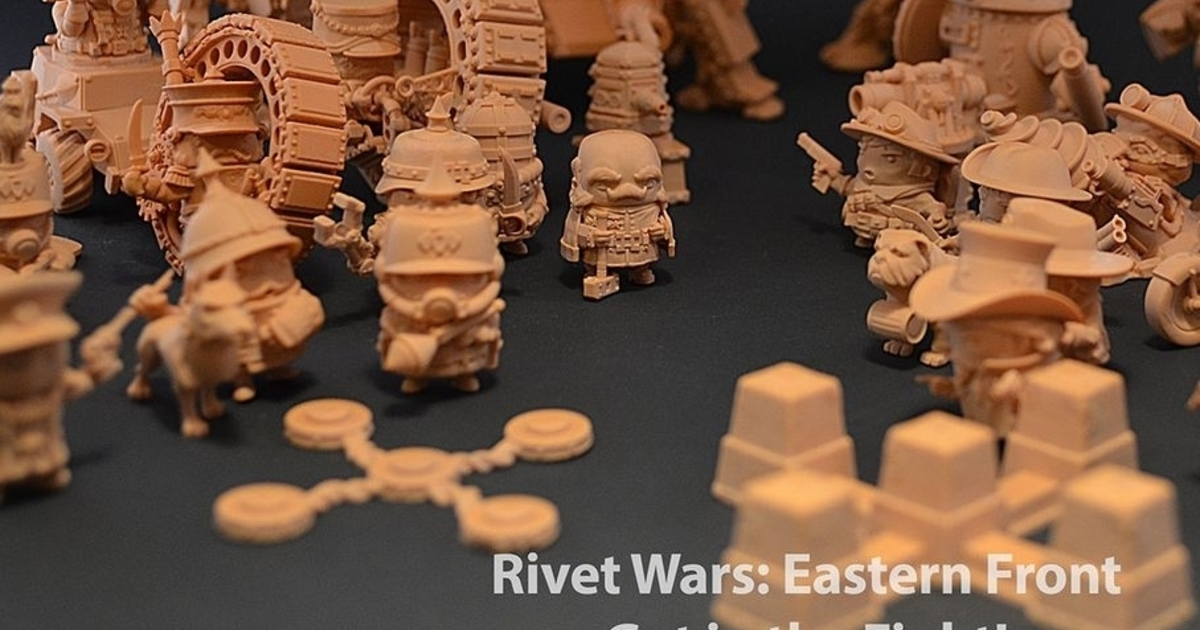 Rivet Wars Turning universe creation on its head