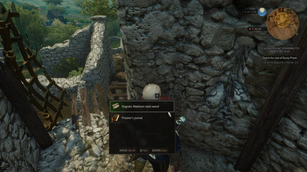 medium resolution of the witcher 3 how to get the manticore gear set