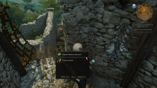 small resolution of the witcher 3 how to get the manticore gear set