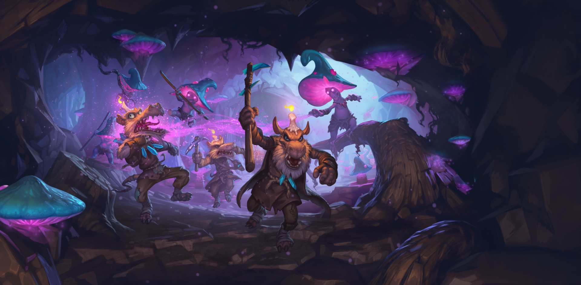 Hearthstone Kobolds And Catacombs Wallpapers Metabomb