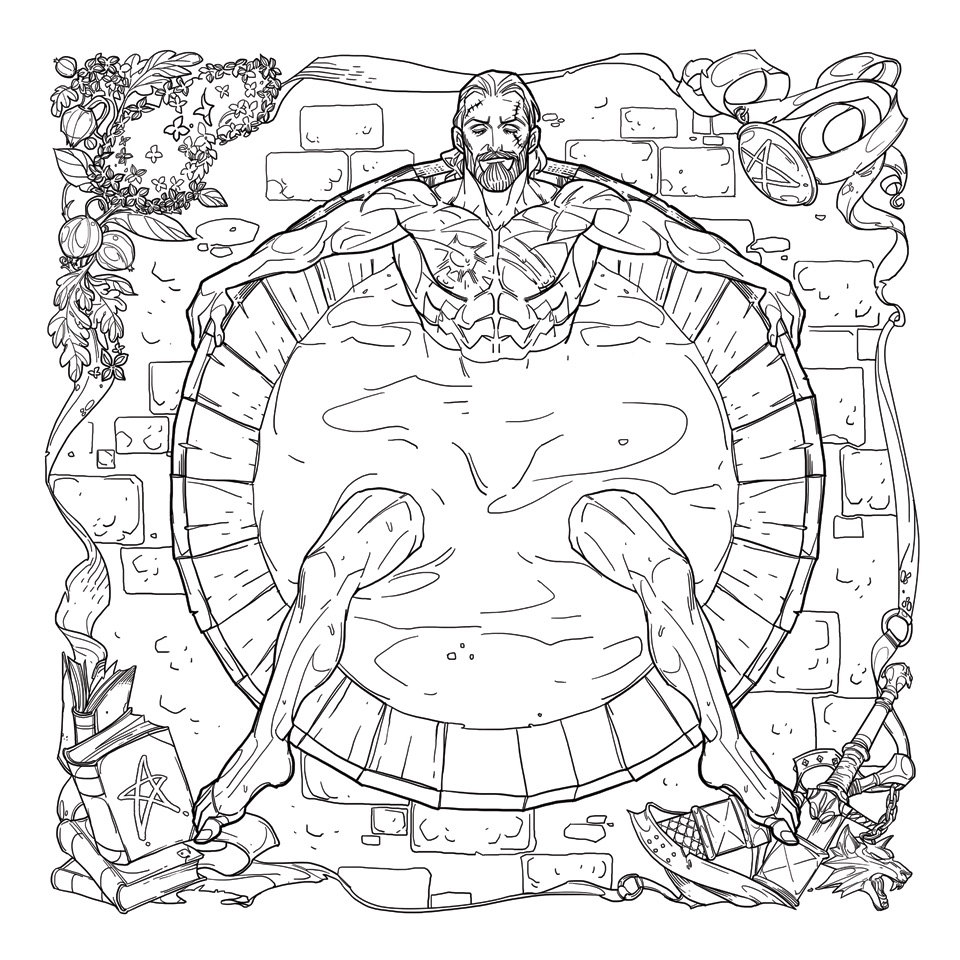 Finally, The Witcher Gets Its Own Coloring Book Complete