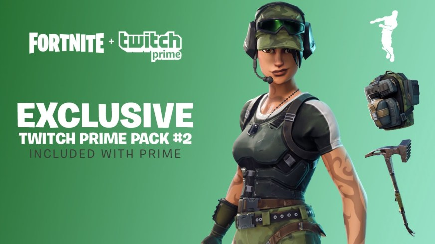 How to Claim the Free Fortnite Twitch Prime Pack 2 Loot ...