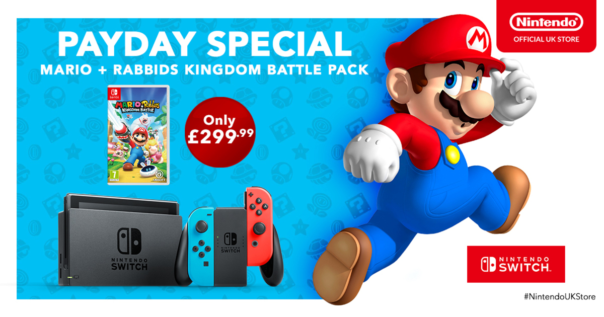 Payday Special Offers On Switch And 2DS Consoles From