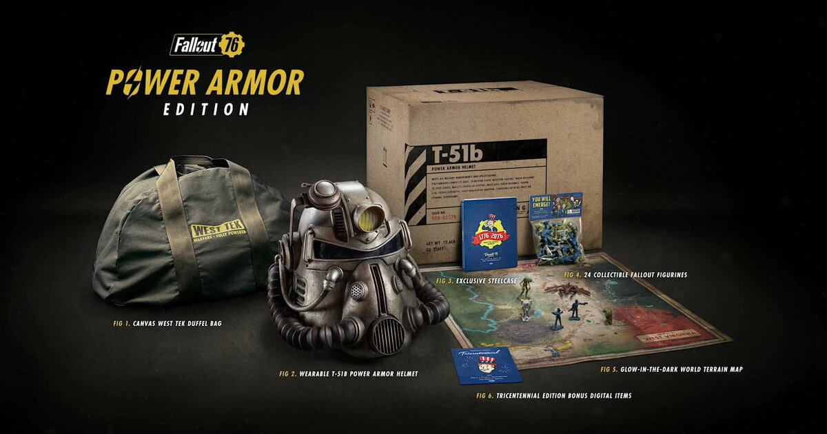 Fallout 76 Power Armor Edition And Rage 2 Collectors