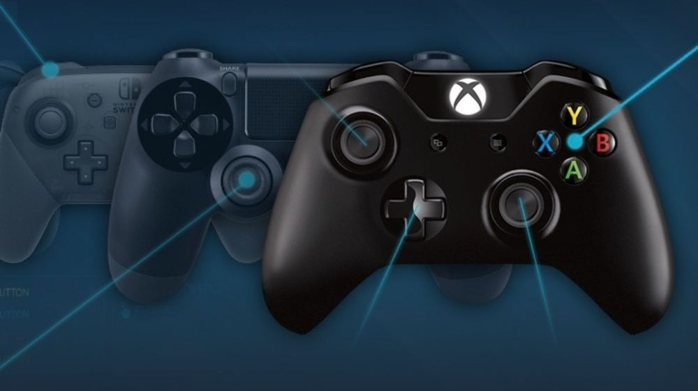 medium resolution of the old reliable xbox 360 controller is still the most popular on steam eurogamer net