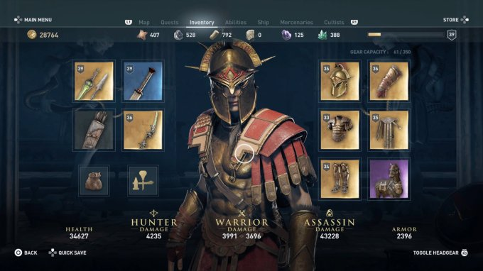 Assassin S Creed Odyssey How To Get The Best Armor Usgamer