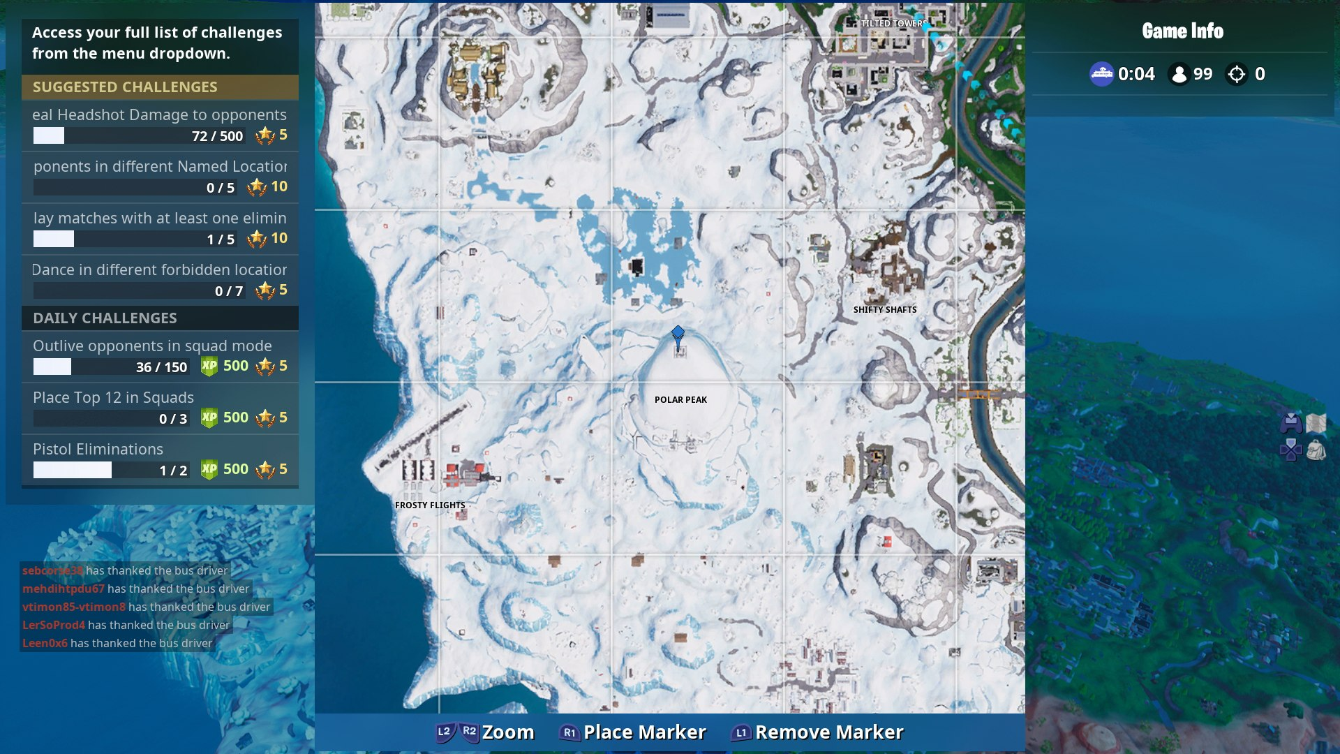 fortnite infinity blade location