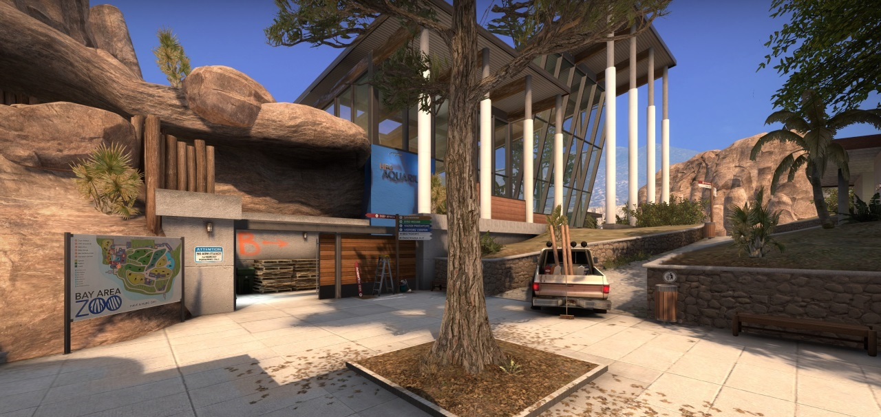 Zoo And Abbey Are Now Available In CSGO Competitive