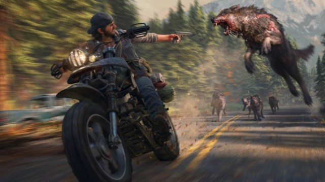 Days Gone PS4 Pro HDR Gameplay