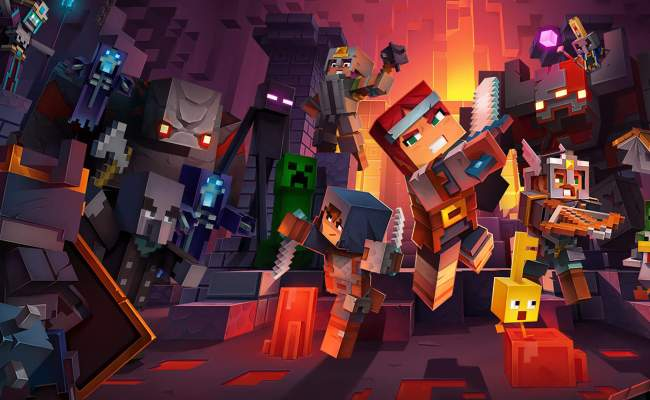Minecraft Dungeons How To Beat The Enderman Boss Fight