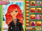 fiery redhead hairstyles - girls
