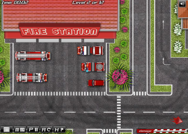 Fire Trucks Driver Simulation Games Action Games