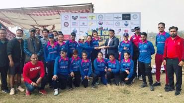 पोखरा क्रिकेट क्लबलाई प्रो–३५ वुमन्स क्रिकेट सिरिज