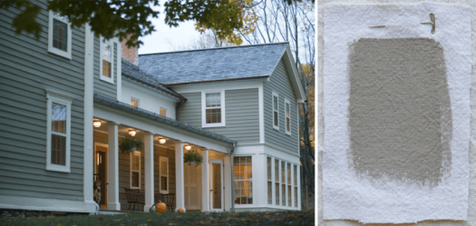 Best Gray Paint Colors Exterior Benjamin Moore Sag Harbor