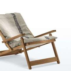 Canvas Sling Chair Cheap Covers For Weddings To Buy Gardenista 100 The Five Best Folding Deck Chairs Malibu Remodelista 1