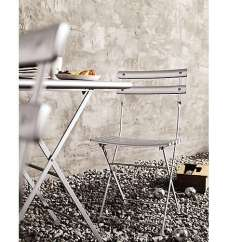 Outdoor Bistro Table And Chairs Set Chair Rental Akron Ohio 10 Easy Pieces Sets Gardenista Above Made In Italy With Steel Frames Weather Resistant Powdercoat Finishes The Arc En Ciel Folding 195 89