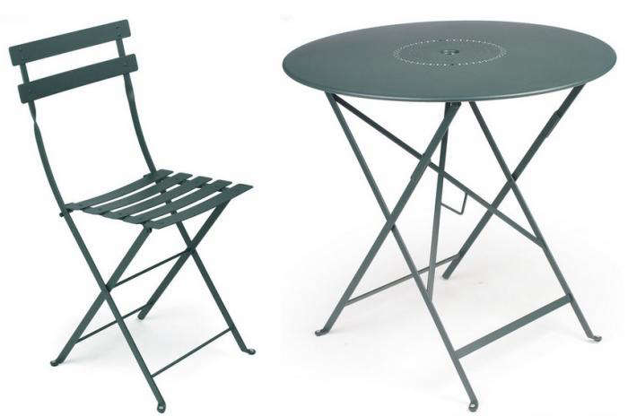 metal chairs and table rattan dining room uk 10 easy pieces outdoor bistro chair sets gardenista