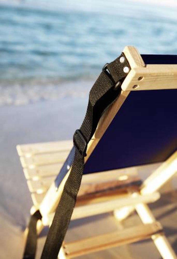 canvas beach chair electric lift recliner object of desire folding gardenista
