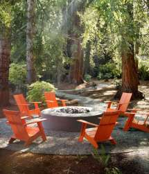 Outdoor Furniture Spotlight Colorful Recycled Design