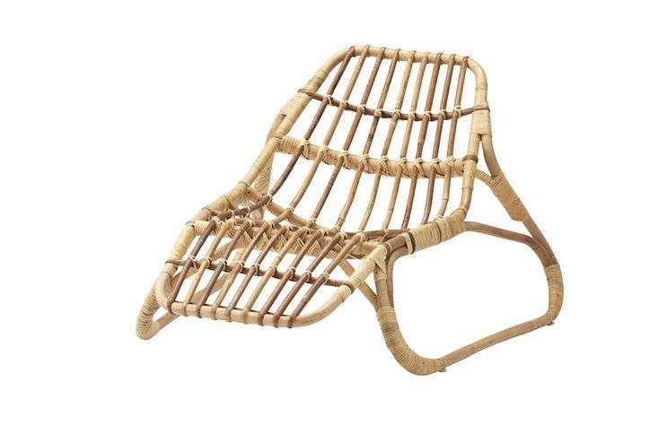 ikea lounge chair office chairs chicago il 2017 stylish rattan by a superstar dutch designer gardenista above although pieces in the jassa collection are mass produced it will look completely handmade says hein eek whose work celebrates