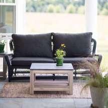Object Of Desire Classic Black Wicker Furniture - Gardenista