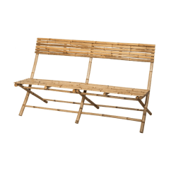 Bamboo Couch And Chairs Joie Owl High Chair Instructions 10 Easy Pieces Folding Benches Gardenista Made Of Untreated Translation Keep It Out The Rain A