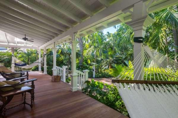 key west's secret garden modern