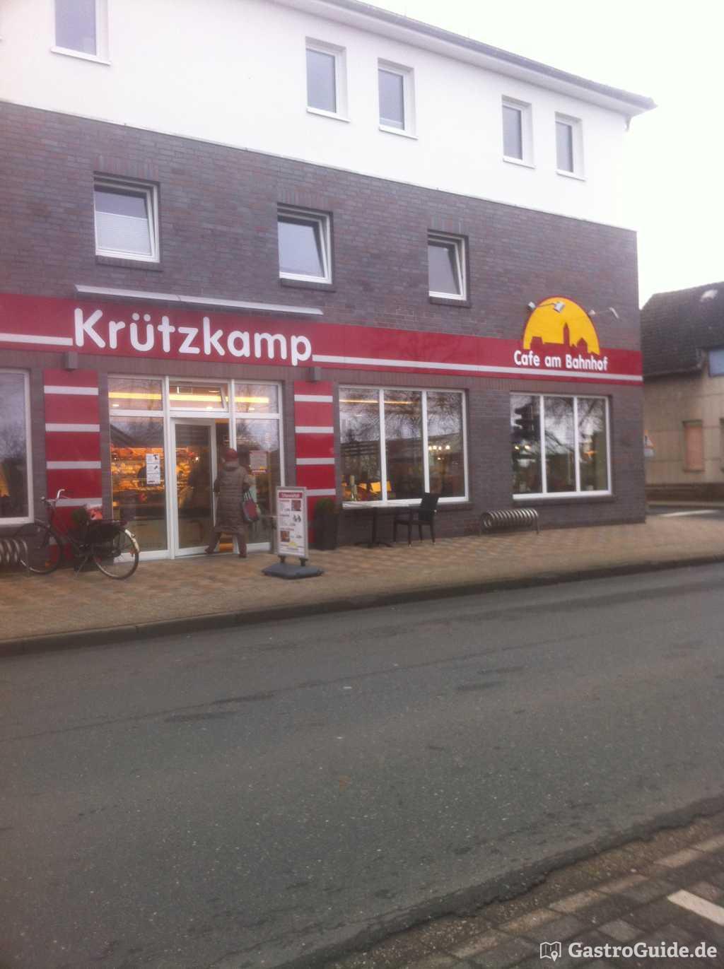 Bckerei Konditorei Krtzkamp  Caf am Bahnhof Bckerei Cafe in 27798 Hude Oldenburg