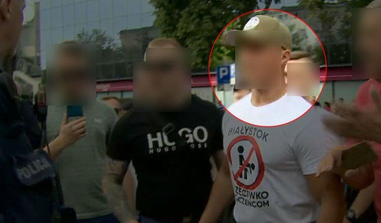 Spotykał się z politykami PiS, organizował blokady marszu w Białymstoku. Politycy PiS czyści.