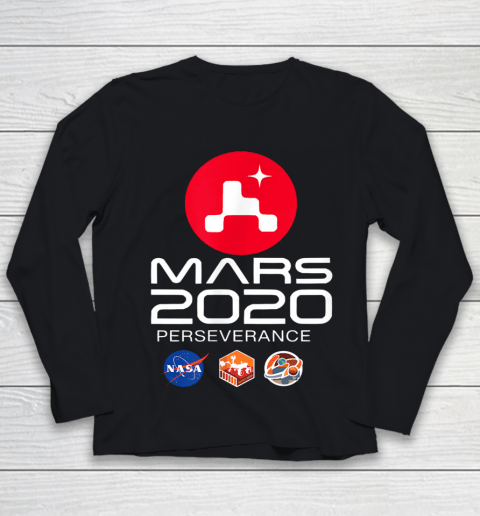 NASA Perseverance Rover Mars 2020 Youth Long Sleeve