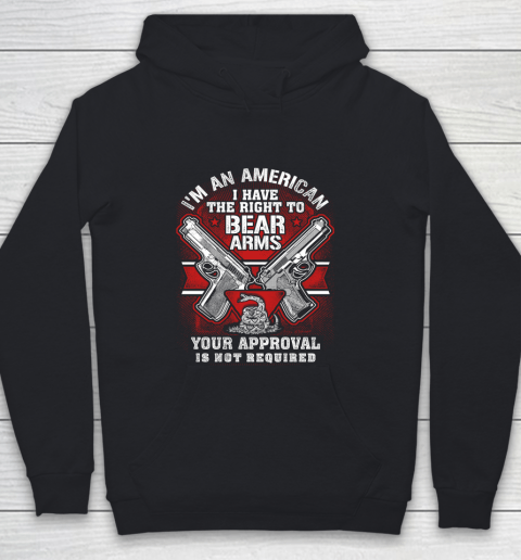 Veteran Shirt Gun Control Right To Bear Arms (2) Youth Hoodie