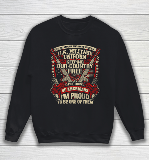 Veteran Shirt Veteran 7% Of American Sweatshirt