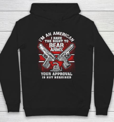 Veteran Shirt Gun Control Right To Bear Arms (2) Hoodie