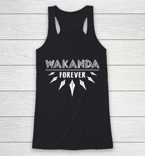 Wakanda Forever Black Panther Racerback Tank