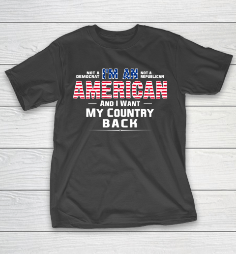 Veteran Shirt Patriot I Am An American T-Shirt