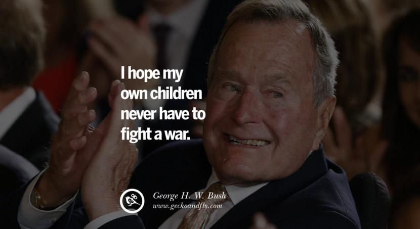13 Famous George HW Bush Quotes On Freemason Illuminati And Politics