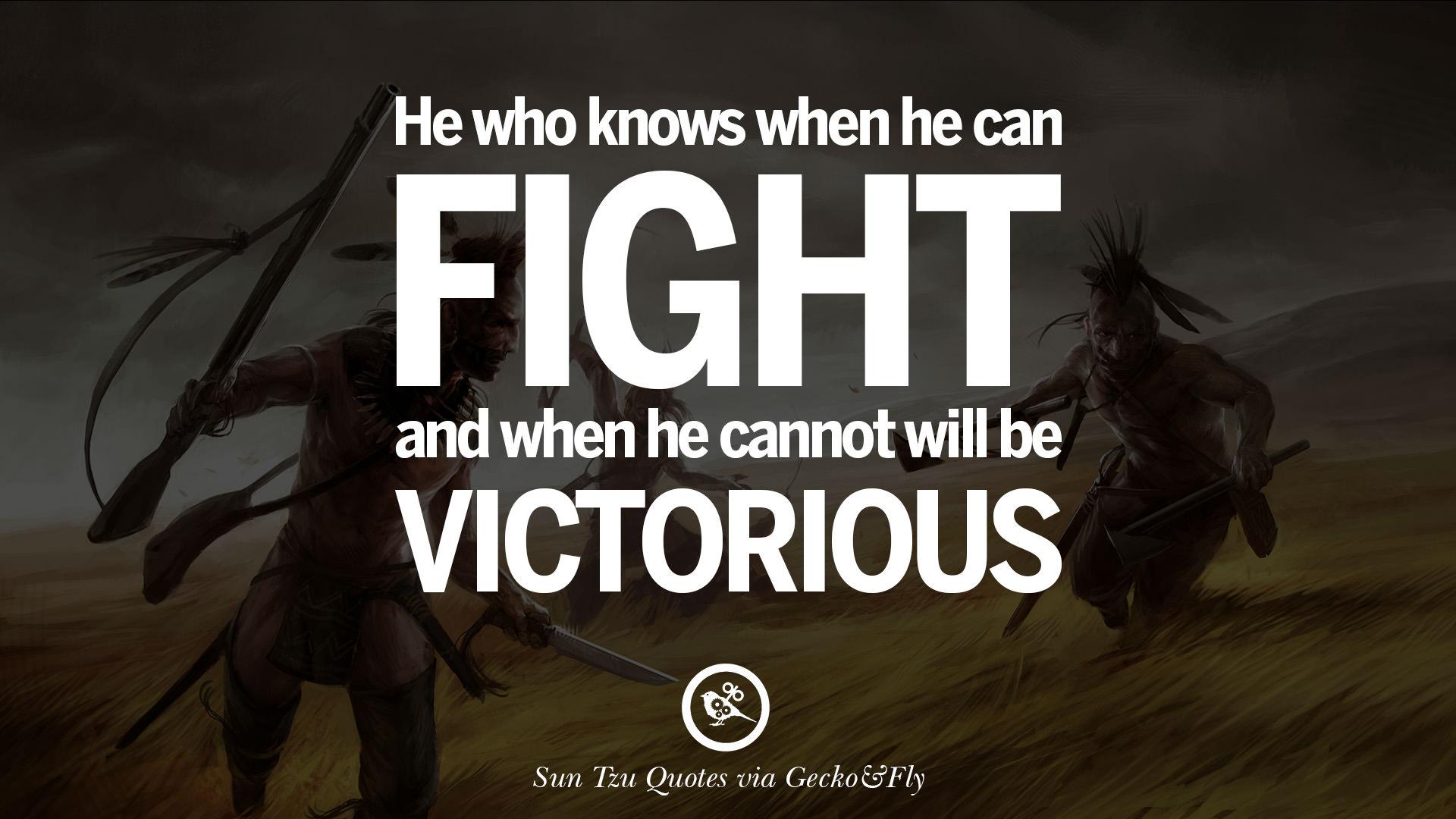 Warrior Zen Quote Wallpaper Sun Tzu Quotes Quotesgram
