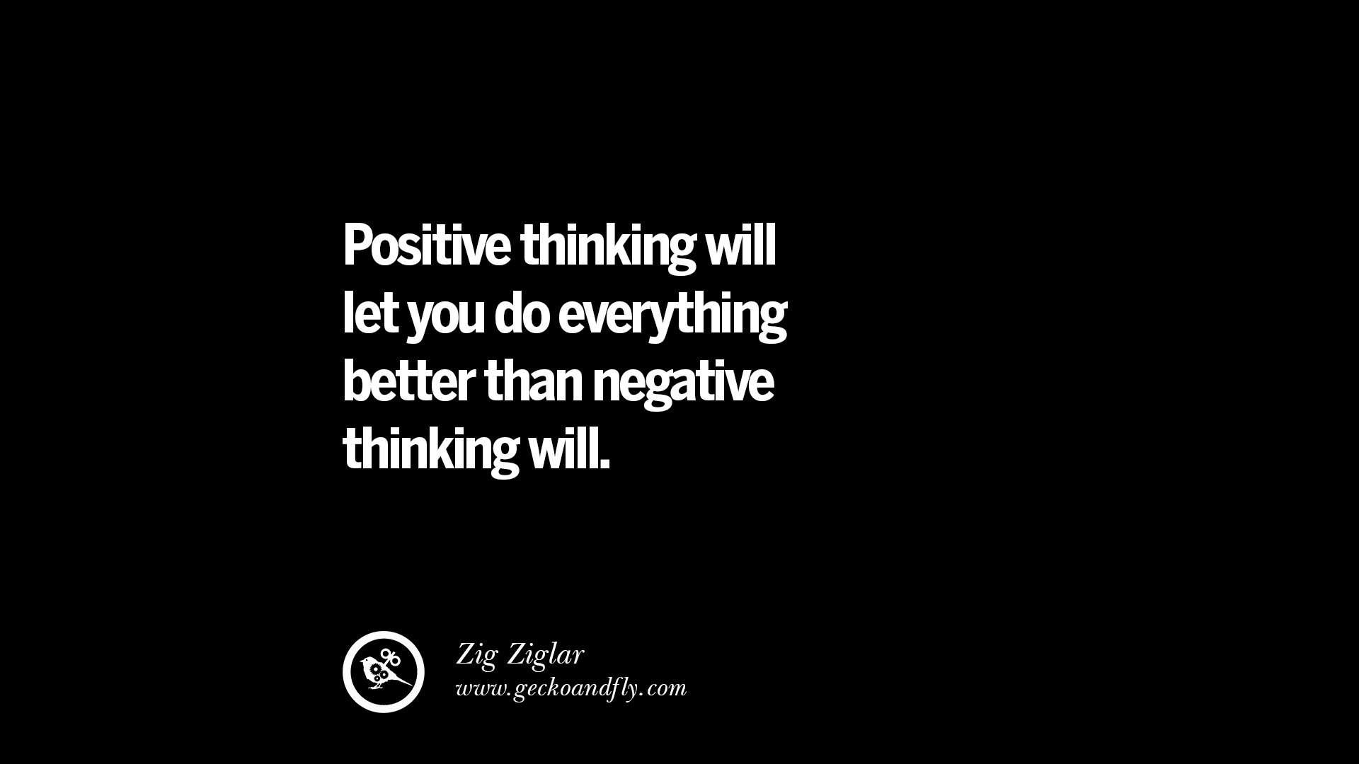 20 Inspirational Quotes On Positive Thinking Power And