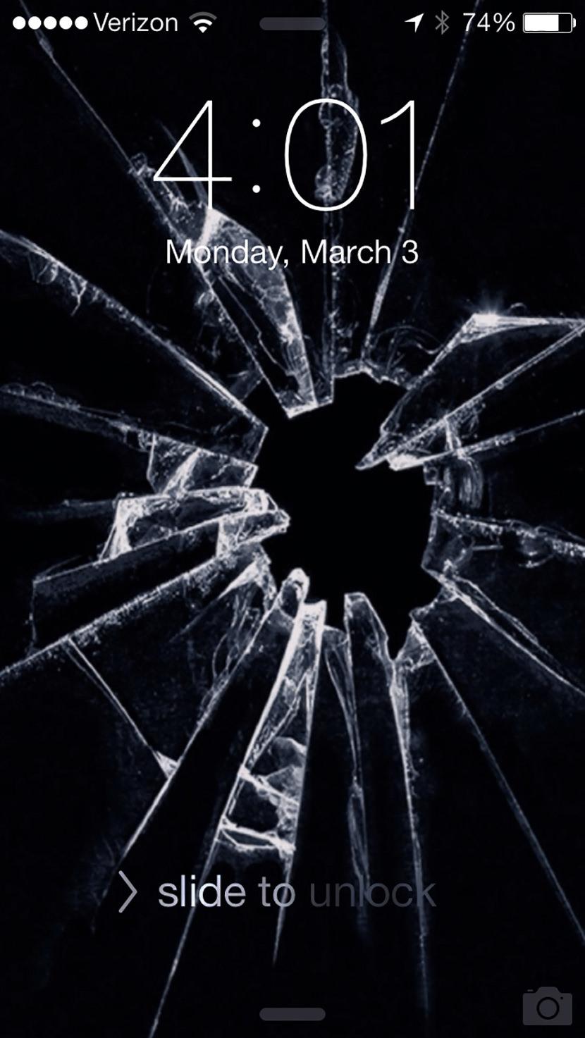 Iphone X Cracked Screen Wallpaper 7 Broken Screen Wallpapers Prank For Apple Iphone
