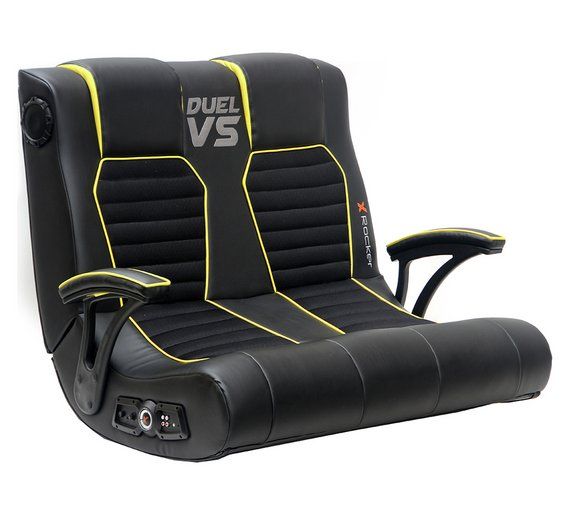 x rocker gaming chair fisher price precious planet high duel vs double furniture good stuff buy online at geekay games bahrain