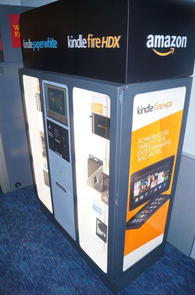 Surprise Amazon tests physical retail with Kindle Kiosk