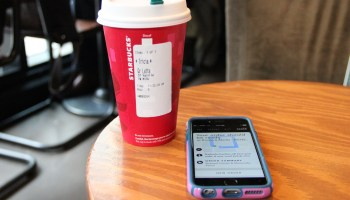 Starbucks mobile order-ahead usage doubles from last year, now up to 8M transactions per month