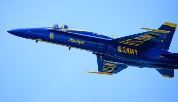 After 30 years in the air, Blue Angels jet is on its way to Seattle's Museum of Flight