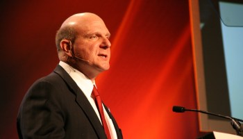 Steve Ballmer criticizes Microsoft cloud disclosures and app plan from cheap seats at annual meeting