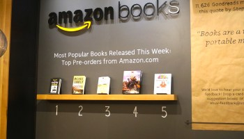 Amazon continues physical retail push with new bookstore in Washington D.C., its 13th nationwide