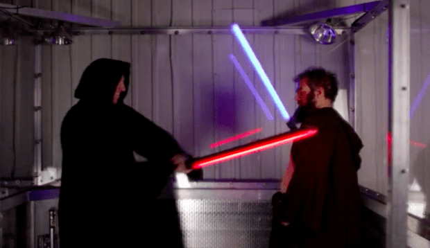 this foam lightsaber might