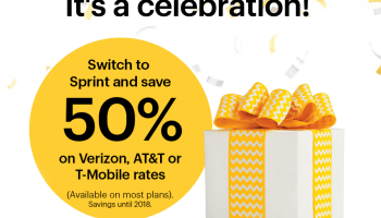 Sprint cuts competitors' price in half again, calls it the 'biggest wireless offer in U.S. history'
